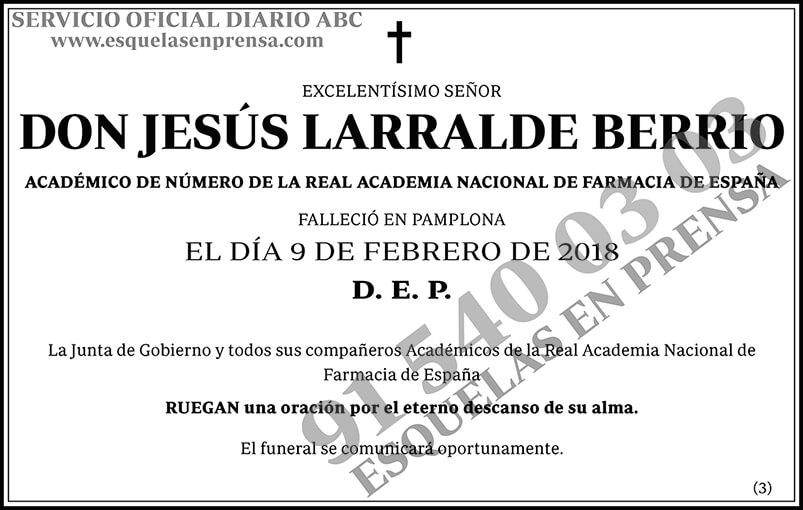 Jesús Larralde Berrio